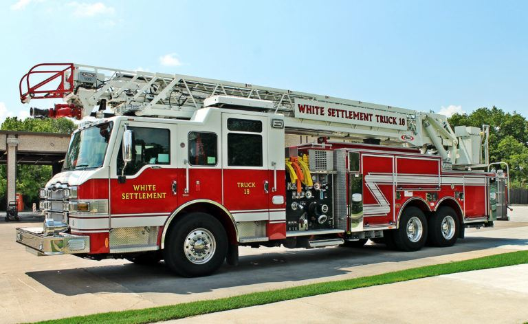 White Settlement Fire Truck