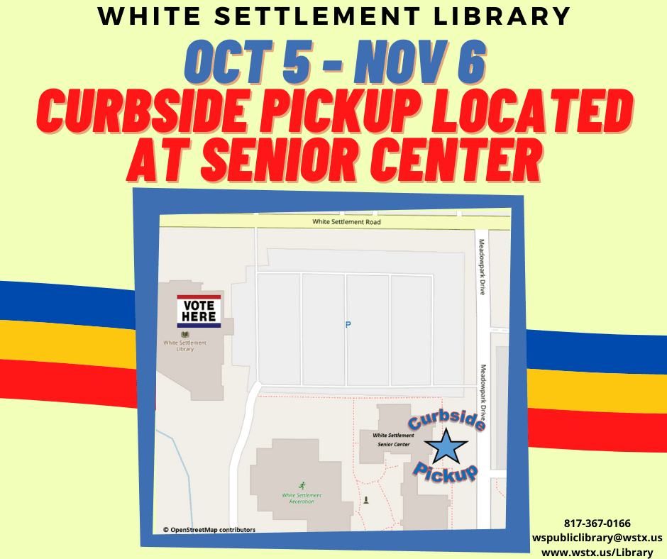 curbside library service map