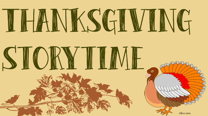 Thanksgiving Storytime