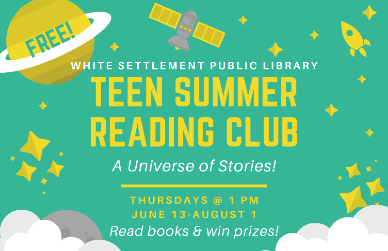 Teen Summer Reading Club