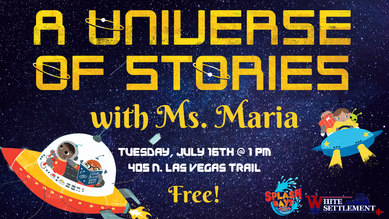 A Universe of Stories with Ms. Maria