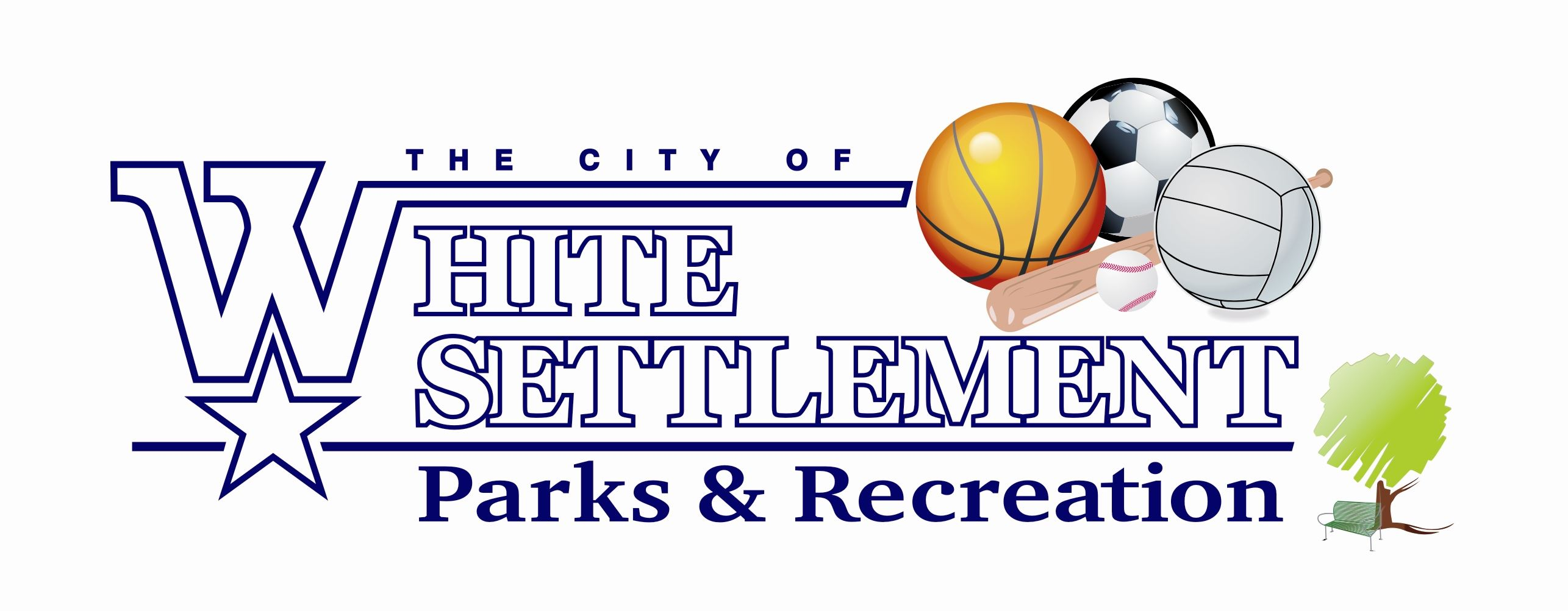 White Settlement - Parks and Recreation Logo
